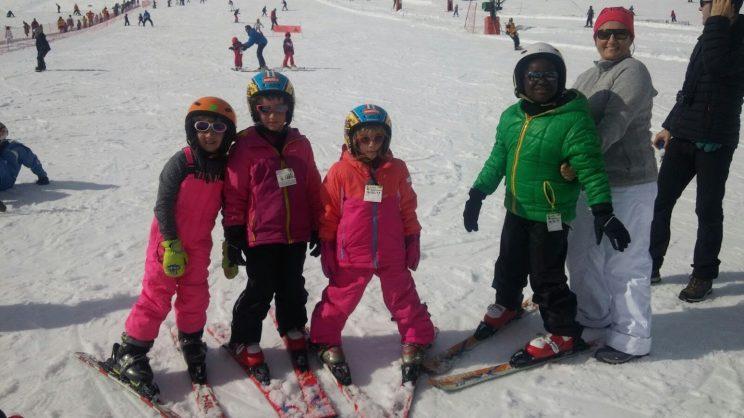 Aprenent a esquiar