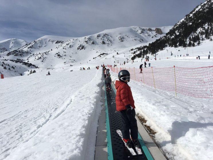 Esquiant a Vallter2000