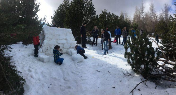 Contruïnt un iglú